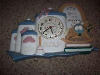 home sweet home clock in Shelf, Mantel