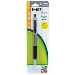 Newly listed 20 Zebra F 402 black ink stainless ballpoint pens