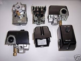 Compressor Parts & Accessories  Pressure Switches & Valves