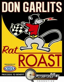 Don Garlits Rat Roast & Linda Vaughn Tribute Roast DVD Set