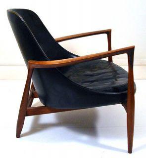 Rare 1950s Danish Elisabeth Chair Ib Kofod Larsen retro eames wegner