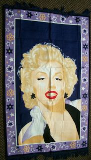 MARILYN MONROE FILM TV ICON LEGEND HUGE XL 5 FT X 3 FT WALL FLAG RUG