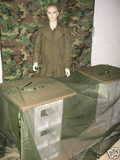 NEW US ARMY USMC MOSQUITO NET FLY BLIND TENT SHELTER