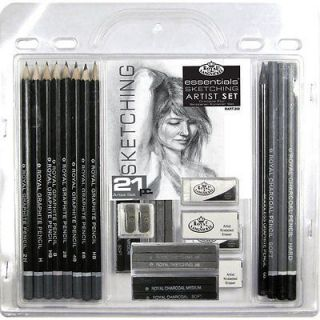 & Langnickel Essentials Sketching Drawing Art Pencil Set 21 Pieces