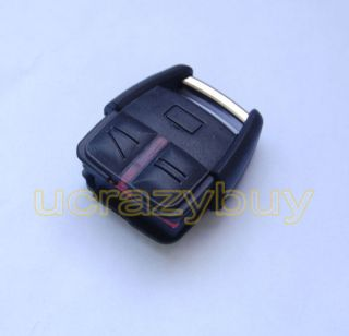 KEY FOB CASE SHELL 3 BUTTONS for VAUXHALL OPEL VECTRA ASTRA ZAFIRA