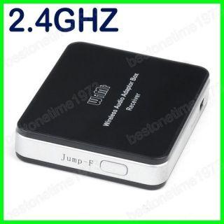 USB 2.4GHz Wireless Audio Adaptor Receiver Box Transmitter USB Remote
