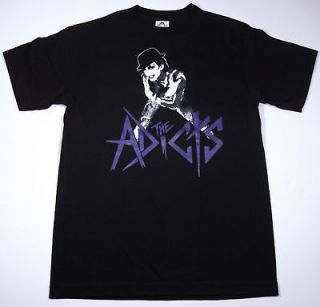 The ADICTS ADX Mens T shirt Punk Rock Band Tee New SzM