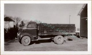 1941 1946 General Motors Co GMC Chevy COE Cab Over Livestock Stake