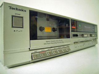 Technics Stereo Cassette Deck Tape Player RS B18