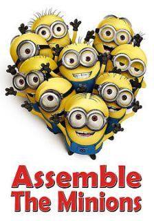 Despicable Me Minions Assemble The Minions Custom Cool NEW White T