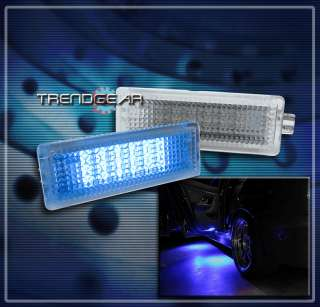 BMW BLUE LED COURTESY LIGHTS LAMP STEP SIDE DOOR KIT E60 E63 E65 E70