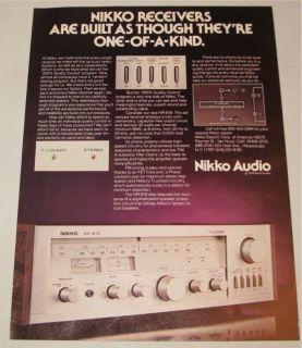 nikko receiver in Vintage Stereo Receivers