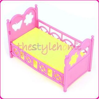 Newly listed Bed Furniture Baby Doll Crib For Barbies Sister Kelly