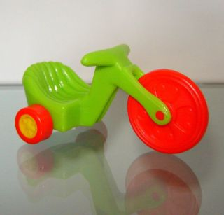 TRICYCLE BIKE DOLLHOUSE SIZE FOR/FITS MATTEL BARBIE BABY KRISSY DOLL