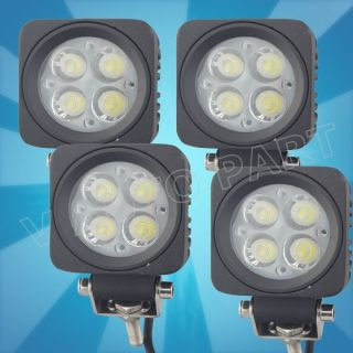 WORK Working Off Road LIGHTS 12W 10W AUTO LED LIGHT TRUCK ATV UTE 4X4