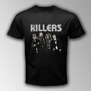 New THE KILLERS American Rock Band Black T SHIRT Size S,M,L,XL,2XL,3XL