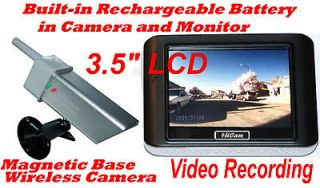 Hand Held Wireless Color LCD Back Up Camera System Night Vision