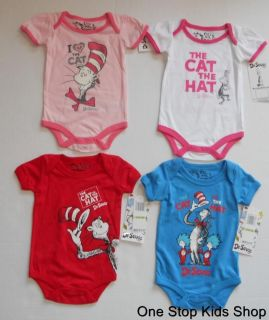 DR SEUSS THING 1 2 3 4 BABY ONESIE KIDS ADULT T SHIRT ALL