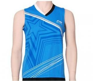 London Olympic 2012 Li Ning Badminton/ Table Tennis Sleeveless Shirt