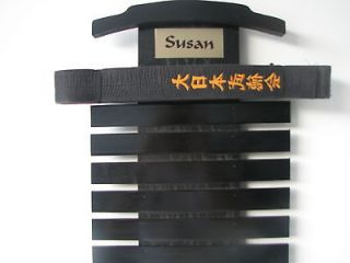Martial Art Belt Display Rack karate tae kwon do