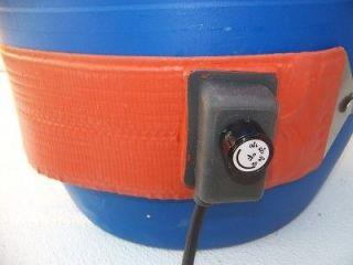 Briskheat Drum Heater Poly 15 Gal. Heavy Duty 200 Watt/ WVO BIODIESEL