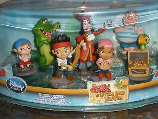 NEW  Jake & Neverland Pirates Playset 7 piece Figurines