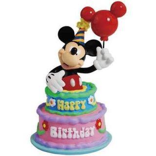Disney Mickey Mouse Happy Birthday Cake Figurine Topper by Westland