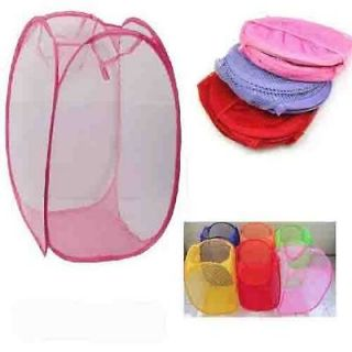 Newly listed Laundry Basket Clothes Storage Pop Up Hamper Travel Bin