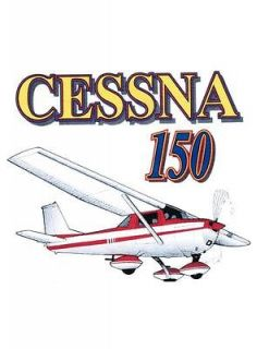 Cessna 150 Airplane Graphic Custom T Shirt