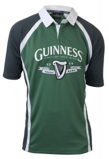 Guinness Stout Beer Ireland Performance Rugby Shirt / Jersey M L XL