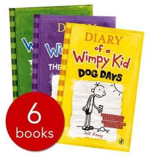 New Diary of a Wimpy Kid Collection   6 Books SET  Brand New Next Day