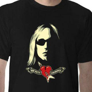 NEW Tom Petty Heartbreakers black T Shirt dance tour tee size S M L XL