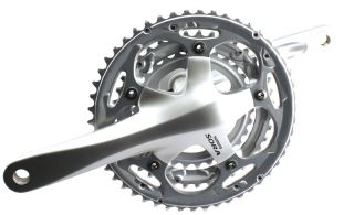 FC 3403 170mm 30/39/50 t Road Bike Crankset Crank Alloy Silver NEW