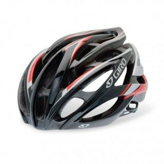 Giro Atmos Red Silver bicycle helmet road bike Large NEW 2012