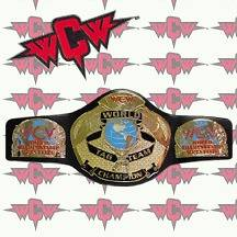 WCW World Tag Team Championship Title Belt Replica, Adult Size