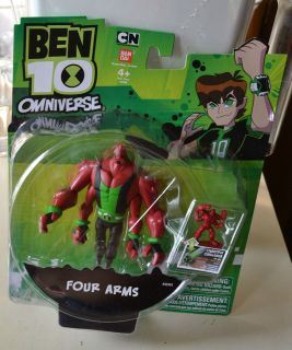 ben 10 four arms in Action Figures