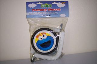 SESAME STREET BICYCLE BIKE TRAINING WHEELS ELMO COOKIE MONSTER HEAVY
