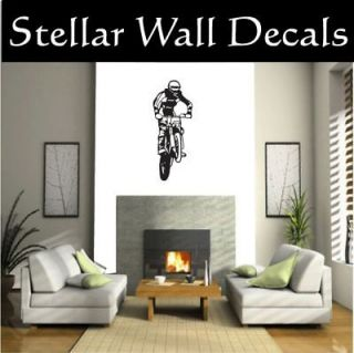 dirt bike wall decals in Decals, Stickers & Vinyl Art