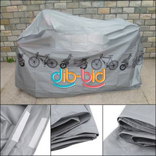 Bike Bicycle Cycling Rain Dust Cover Waterproof Garage Outdoor Scooter
