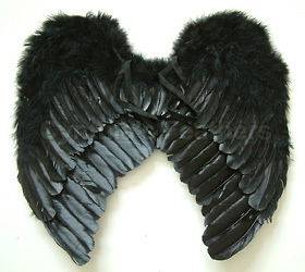 black angel wings in Costumes, Reenactment, Theater