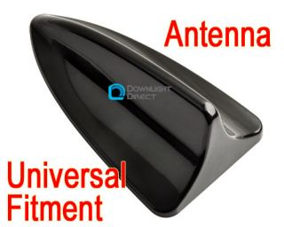 Fitment Car Shark Fin Aerial BMW Decorative Dummy Antenna Black