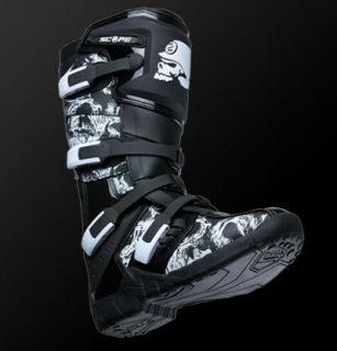 msr metal mulisha boots black multiple sizes dirt bike motocross