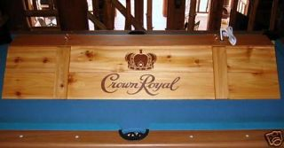 Newly listed New Crown Royal Pool Table Light & Cue Rack Combo !!