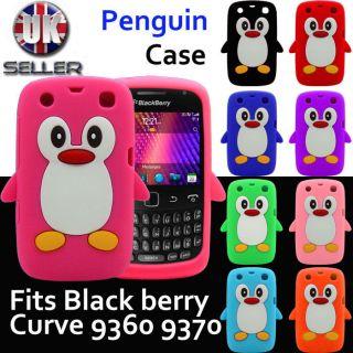 blackberry curve 9360 penguin cases