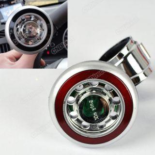 W3LE Car Hand Control Steering Wheel Suicide Knob Ball Power Handle