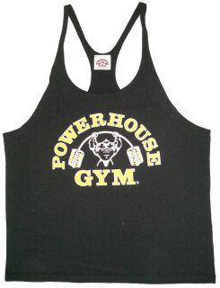 PH301 Powerhouse Gym String Tank Top   Mens Tank Top   Y Back Tank Top