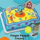 Blues clues birthday party cake edible image decor