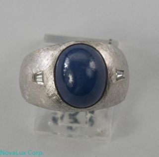 mens star sapphire ring in Mens Jewelry