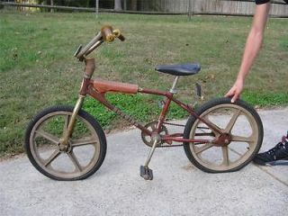 1980 Schwinnn Scramber SX 100 BMX Bike   Skyway Mags   Old School