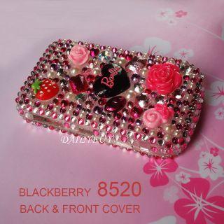 Bling Diamond Hard Cover Blackberry Curve 8520 8530 9300 Case Skin